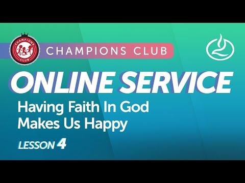 Champions Club Online Service  Week 4