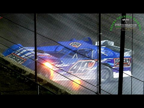 Desert Thunder Raceway High Plains Late Model Series Main Event 9/25/21 - dirt track racing video image