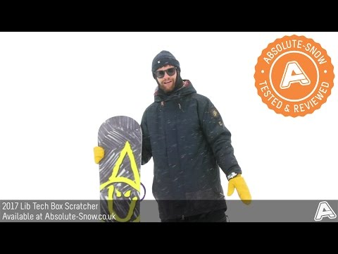 2016 / 2017 | Lib Tech Box Scratcher Snowboard | Video Review