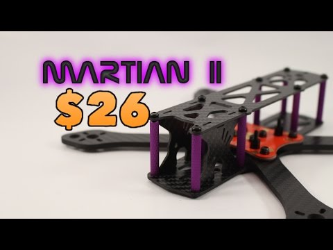 Martian 2 Quadcopter Frame Review. ONLY $26 WHAT?? Part 1 of 2 - UC3ioIOr3tH6Yz8qzr418R-g