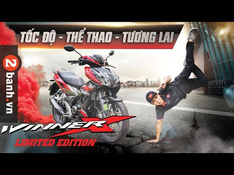 Winner X 2021 Limited Edition phiên bản giới hạn - giá 45,9 triệu đồng I 2banh Review