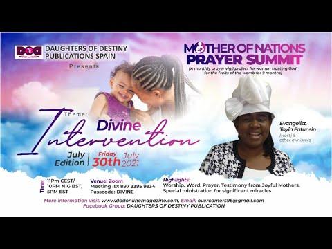 JULY MOTHER OF NATIONS VIGIL -DODP