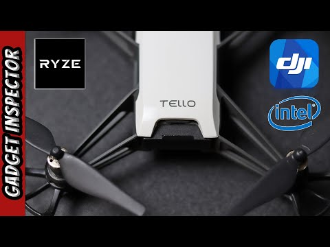 Ryze Tech Tello Drone Powered by DJI and Intel   Unboxing