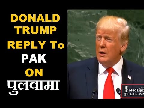 Donald Trump Reply To Pakistan | Wing Commander Abhinandan Bravery Special | Funny Dubbing Video