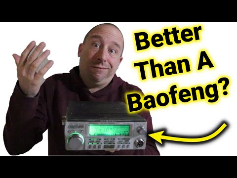 Classic Ham Radio: Kenwood TW4000A - Better Than a Baofeng???