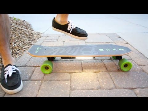 Acton BLINK Lite: The Lightest Electric Electric Skateboard // Quick Review 2017 - UCtIrfeZCRAMdofBsazF9j_g