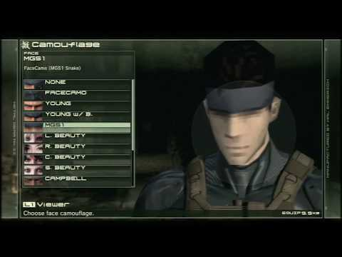 MGS Peace Walker dating Paz