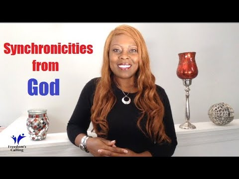WEDNESDAY WORD - Synchronicities from God...Open Your Awareness