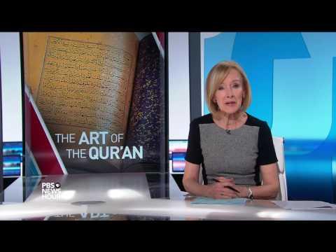 Exhibit illuminates the divine art of the Quran