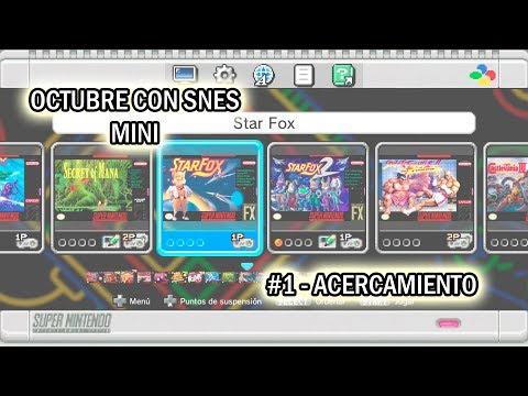 Octubre con SNES Mini - #1 - Acercamiento