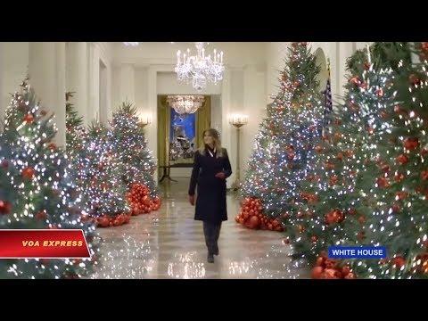 Nhà Trắng trang hoàng đón Giáng sinh (VOA)