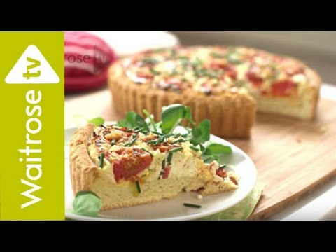 Roasted Tomato and Wensleydale Tart | Waitrose