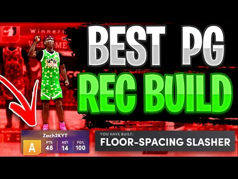 THE BEST POINT GUARD REC / PRO AM BUILD ON NBA 2K21 NEXT GEN! BEST FLOOR SPACING SLASHER POINT GUARD