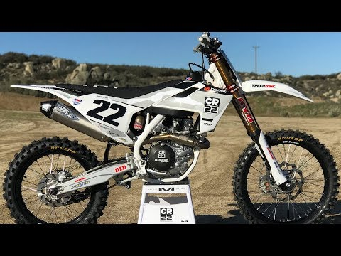 Chad Reed Replica FC450 Build - Motocross Action Magazine