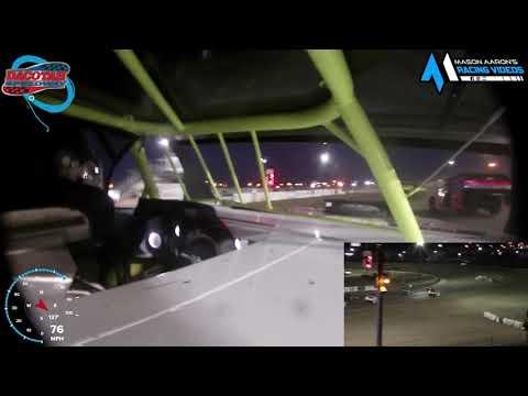 #8 Chris Barros IMCA Modified On-Board @ Mandan (8/13/21) - dirt track racing video image