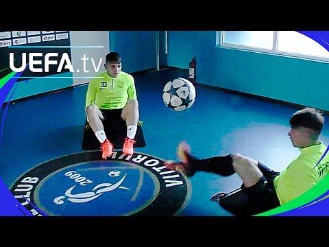Viitorul Constanţa: UEFA Youth League skills challenge