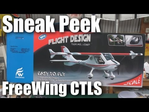 FreeWing CTLS scale model RC Plane (sneak peek) - UCahqHsTaADV8MMmj2D5i1Vw