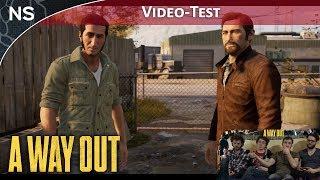 Vidéo-Test : A Way Out | Vidéo-Test PS4 (NAYSHOW)