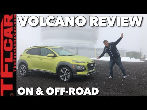 2018 Hyundai Kona Beach to Volcano Off-Road Review