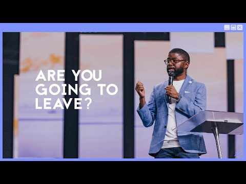 Gateway Church Live  Are You Going to Leave? by Pastor Tim Ross  June 27