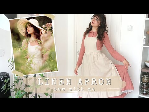 Linen Apron   Beginner Friendly Sew With Me