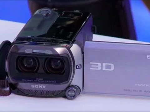 SGNL by Sony - EXCLUSIVE 3D Sony Handycam Debut at CES 2011 - Sony HDR-TD10 3D HD Camcorder Preview - UCi63sVyu30O5re7skuOUEtA