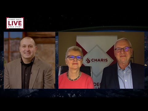 Charis Daily Live Bible Study: The Choice is Ours - Klaus-Dieter & Ann Gruber - December 9, 2020