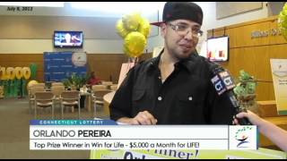 CT Lottery Win for Life Winner! - YouTube