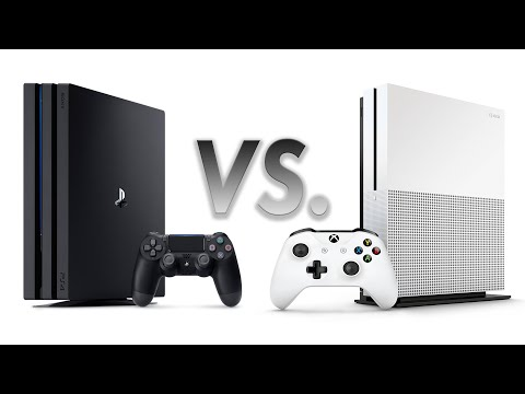 PS4 Pro vs Xbox One S Preview: The Battle Of 4K Consoles Begins
