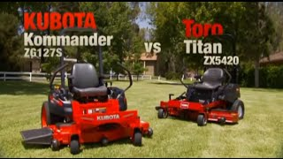 Kubota Kommander Zero Turn Mower Advantage Video 1
