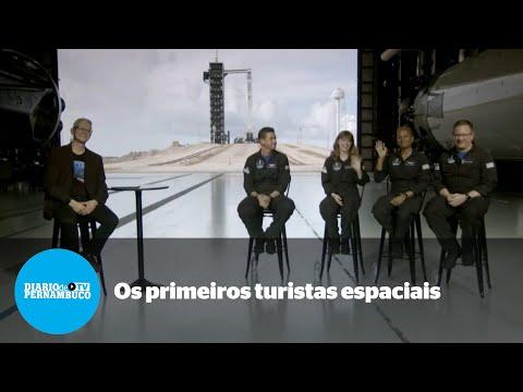 Tudo pronto para o lançamento da primeira viagem espacial para turistas