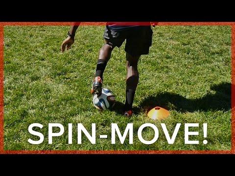 Maradona Spin-Move Drill