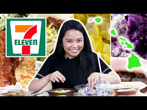 Eating A 7-Course Meal At 7-Eleven In Hawaii