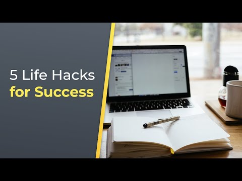 5 Life Hacks Every Successful Person Knows  Brian Tracy