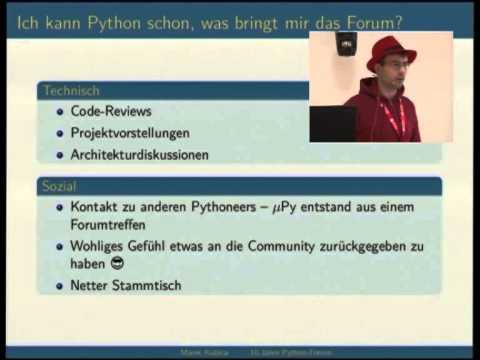 Image from 10 Jahre Python-Forum