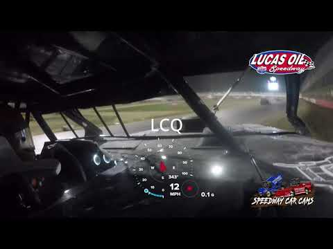 #00 Chris Spalding - Usra Modified - 10-9-2021 Lucas Oil Speedway - In Car Camera - dirt track racing video image