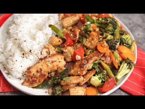 Chicken with Mixed Vegetables