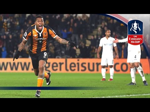 Hull City 2-0 Swansea City - Emirates FA Cup 2016/17 (R3) | Goals & Highlights