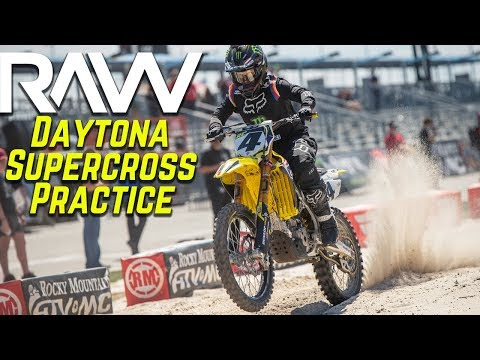 Daytona Supercross Practice RAW - Motocross Action Magazine