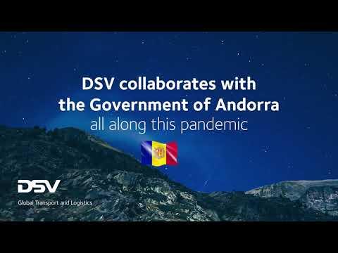 DSV colabora en la mayor operación logística del gobierno de Andorra en la lucha contra el COVID-19