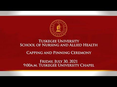 Tuskegee University School of Nursing and Allied Health, Summer 2021 Pinning Ceremony.