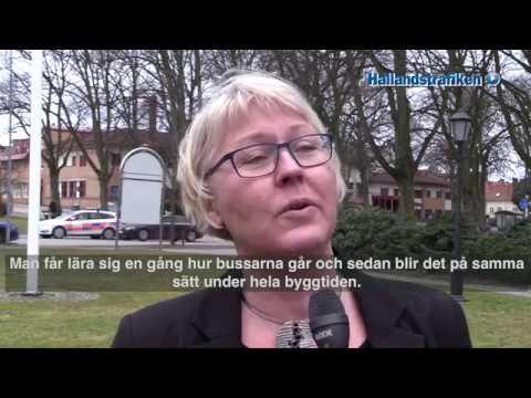 Bussterminalen i Varberg flyttas den 1 oktober