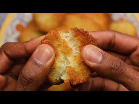 How To Make The Perfect Yuca Fritters ? Tasty