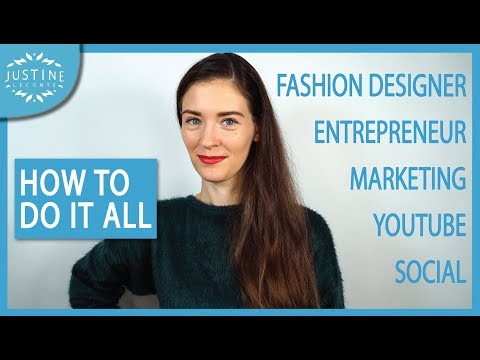 Video: How to get everything done ǀ 22 productivity tips from an entrepreneur ǀ Justine Leconte