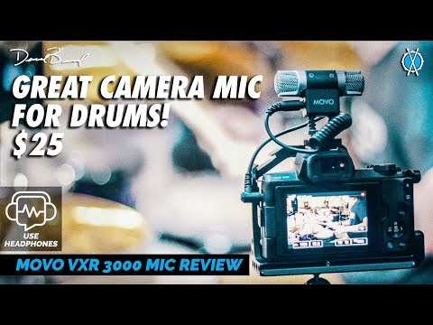 $25 Camera Mic for Musicians! // Movo VXR3000 Review