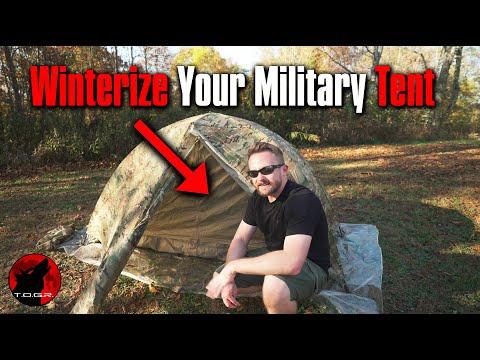 LiteFighter Military Tent 4 Season Conversion Kit