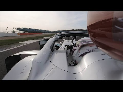 Ride Onboard with Lewis for His First Lap with the W11!