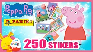 Peppa Pig - 250 Images stickers Panini - Titounis