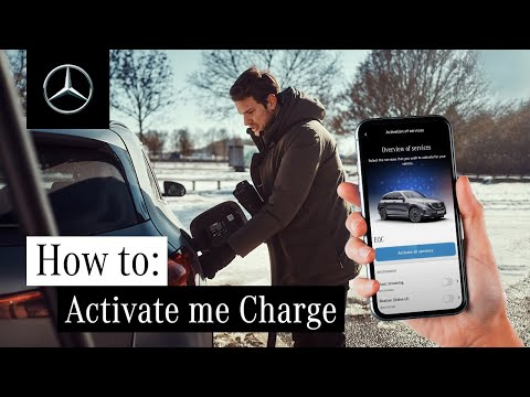 How to Activate Mercedes me Charge