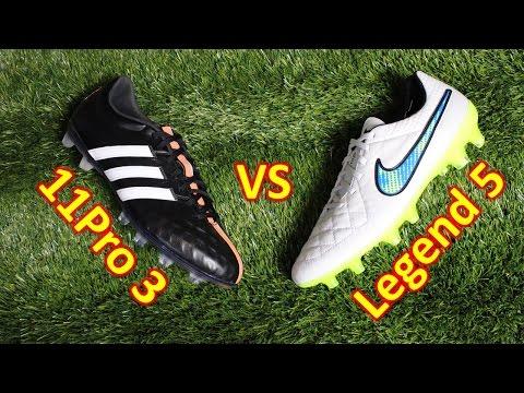 Nike Tiempo Legend 5 VS Adidas 11Pro 3 - Review + Comparison - UCUU3lMXc6iDrQw4eZen8COQ